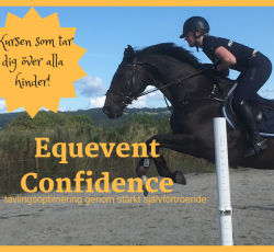 Första webinaret i kursen Equevent Confidence 17/12 19.00